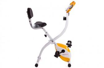 Ultrasport 200b – Vélo d'appartement pliable avec dossier